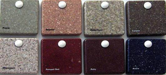dupont corian samples